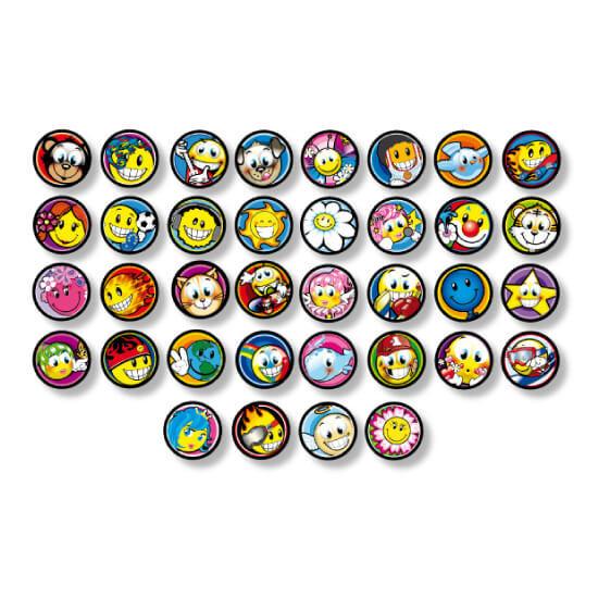 Magnetic pop tokens