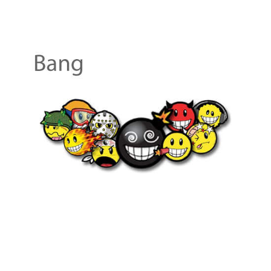 Autocollants - Bang