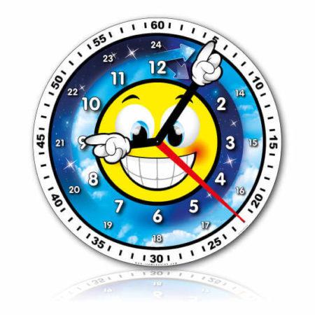 Grande horloge professeur jour