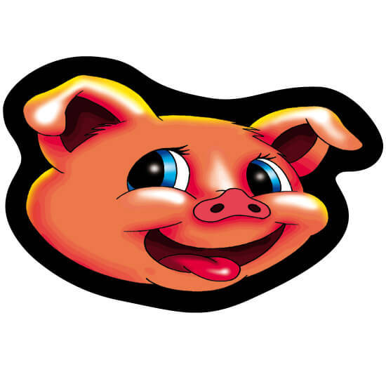 Tapis à souris - Piggy
