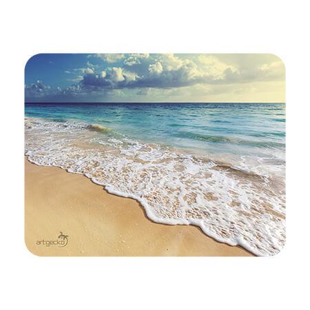Adhesive mouse pad – Beach