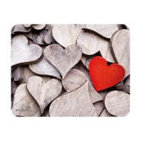 Sous-mains et tapis à souris – coeurs de bois