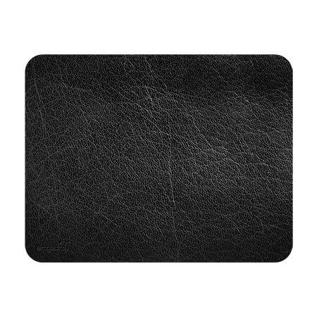 Sous-mains et tapis à souris – Cuir noir