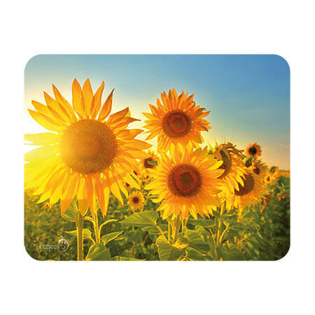 Adhesive mat and mouse pad – Sunflower