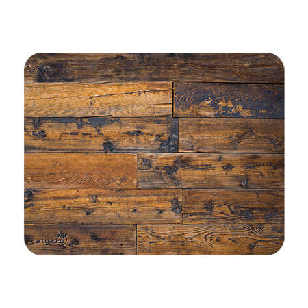 Adhesive mat and mouse pad – Wood floor