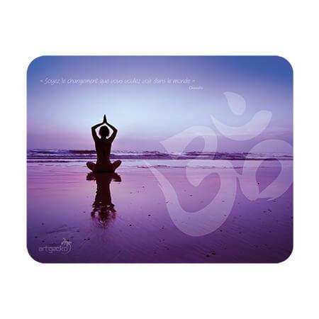 Adhesive mat and mouse pad – Yoga