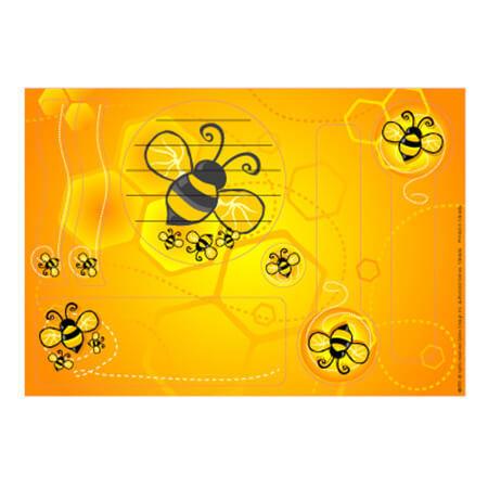 Etiquette autocollantes - Identification abeille