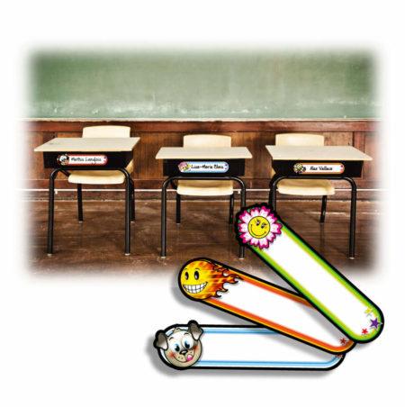 Identification pupitre école
