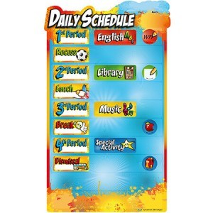 Elementary daily schedule – Set