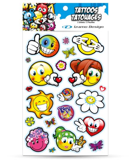 Tatouage peace and love
