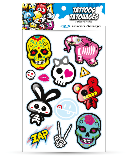 Tatouage sugar skulls