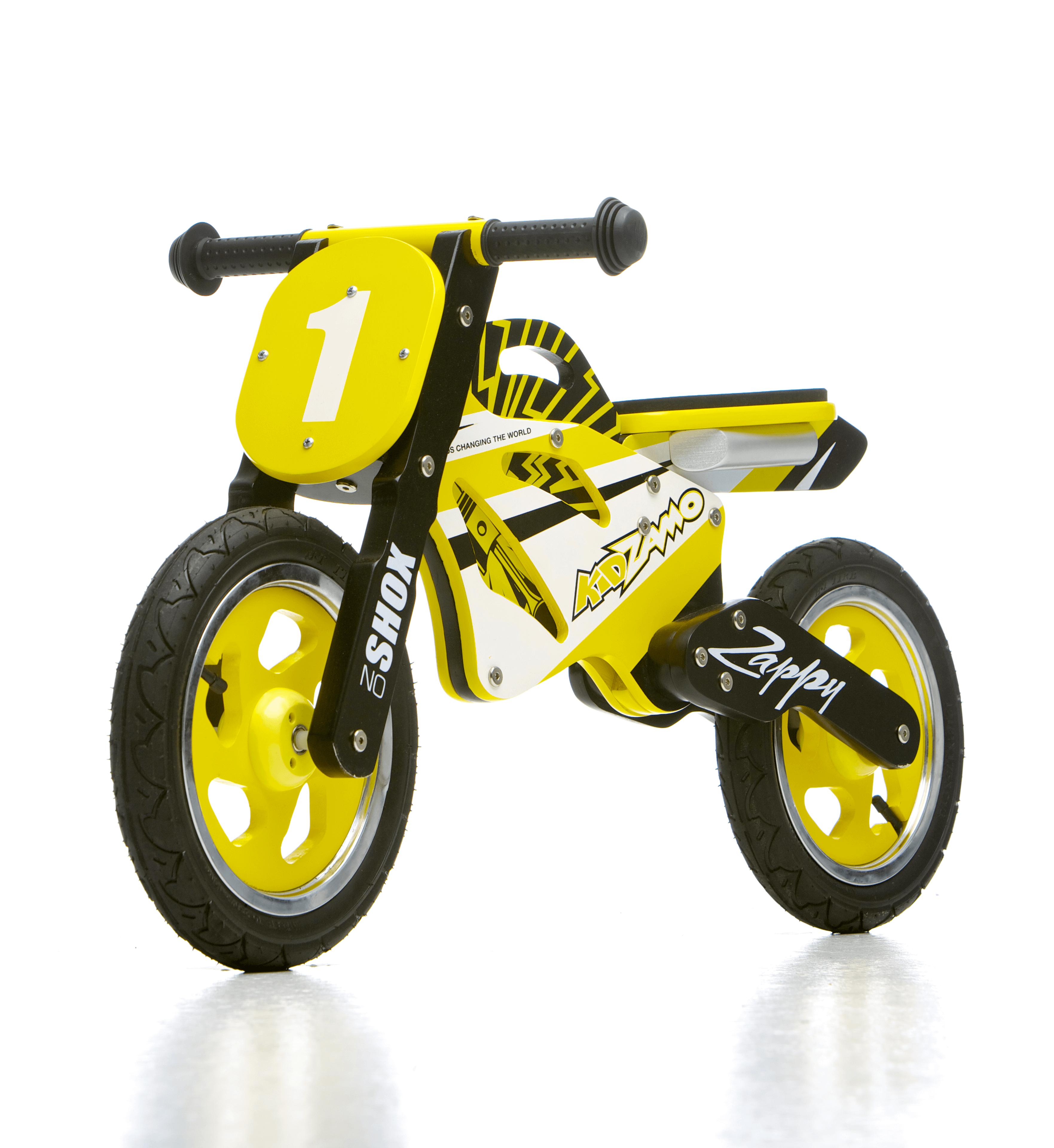 Vélos - motocross jaune