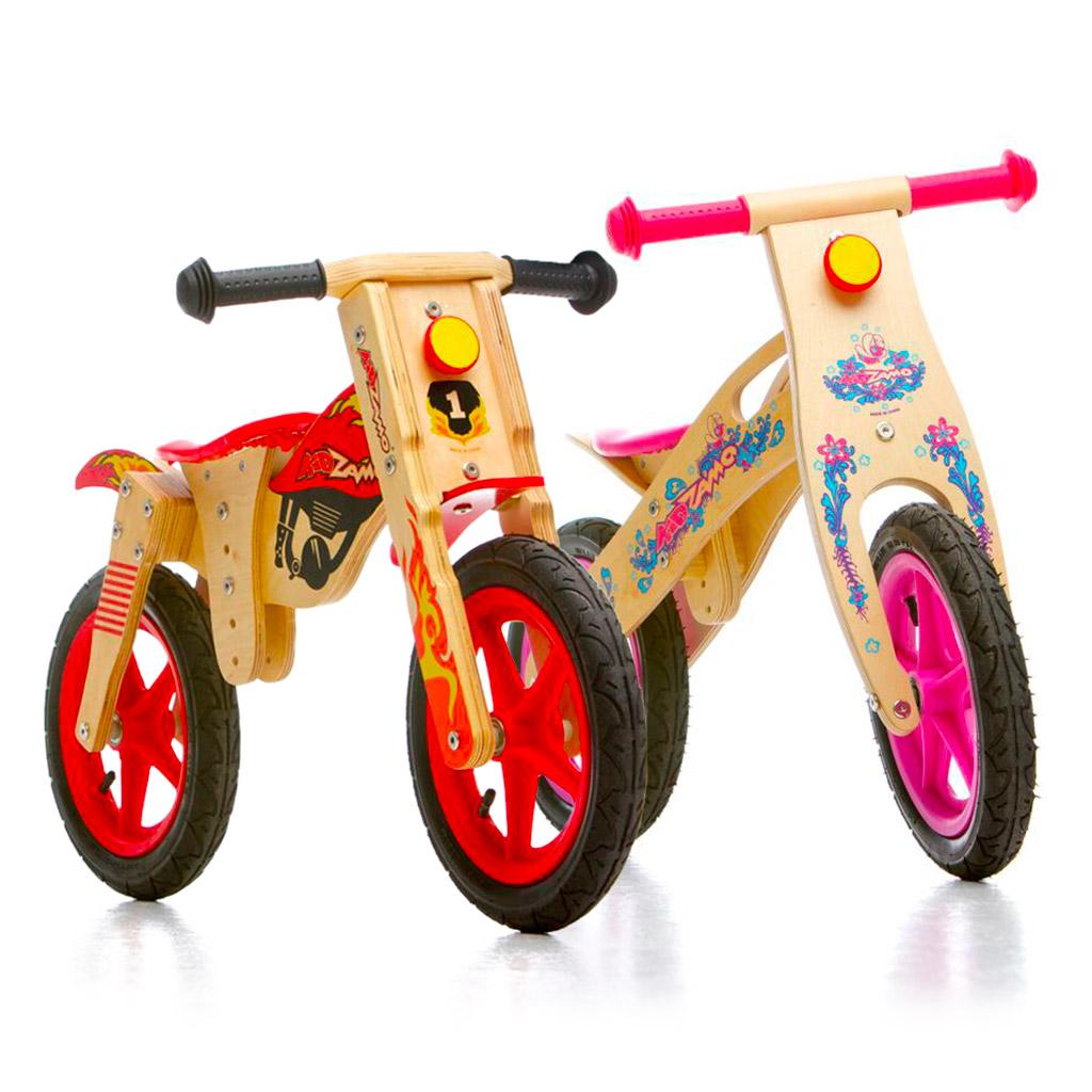 Vélos d'équilibre