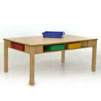 Table avec rangement