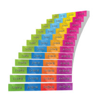 Adhesive Stair Riser Decals — Additions Collection (1-4)