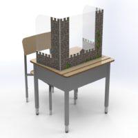 Cubicule de protection – Château