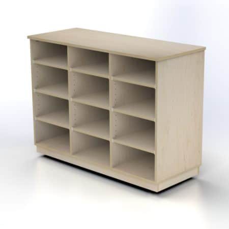 Storage Unit with 12 Compartments