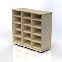 Storage Unit with 15 Compartments