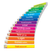 Adhesive Stair Riser Decals – Inspiration Collection