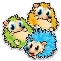 Identification Floor Decals – Hedgehog