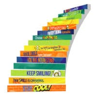 Adhesive Stair Riser Decals – Motivating Force Collection
