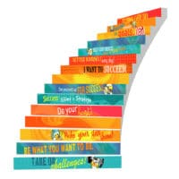 Adhesive Stair Riser Decals – Success Collection